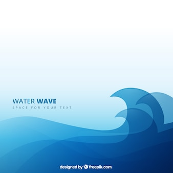 Water wave background