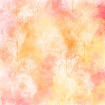 Watercolor background design in pastel colors