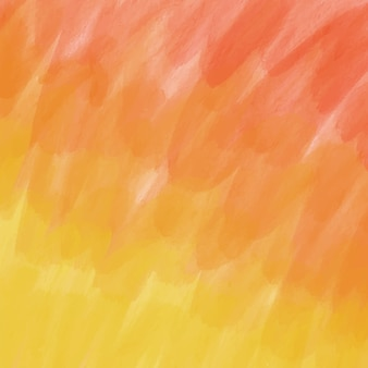 Watercolor background design in warm colors
