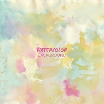 Watercolor background in pastel tones