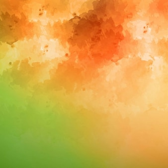 Watercolor background of two colors