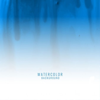 Watercolor background with drops