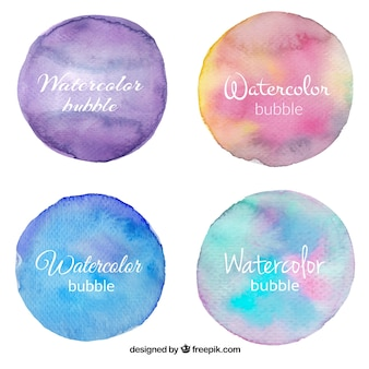 Watercolor dots pack