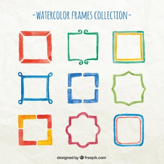 Watercolor Frame Collection