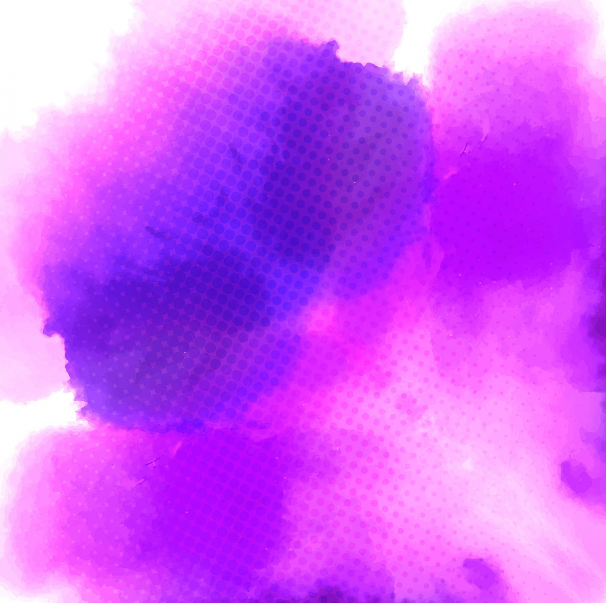 Watercolor texture, purple color