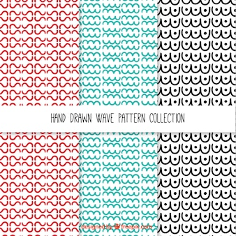 Waves patterns collection