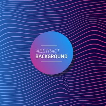 Wavy background with vivid colors