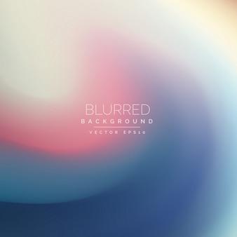 Wavy blurred background