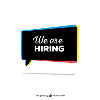 We are hiring sign