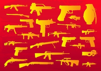 Weapons Clip Art