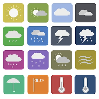 Weather icon collection