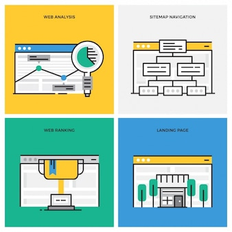 Web designs collection