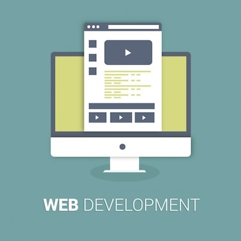 Web Development Background