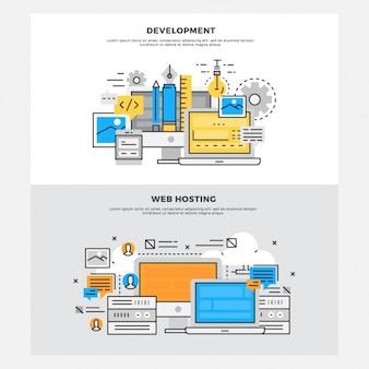 Web development designs
