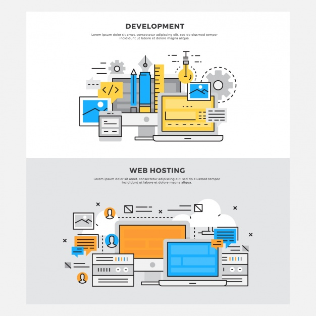 Web development designs