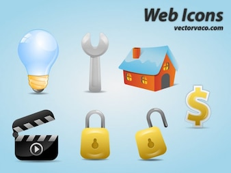 web icons vector pack
