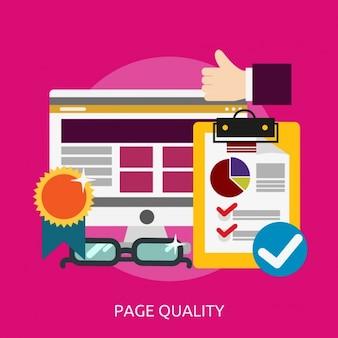 Web page background design