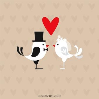 Wedding birds