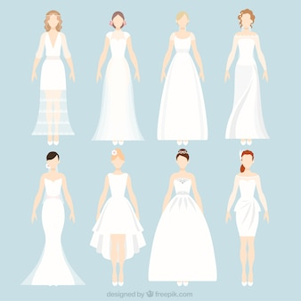 Wedding brides dress collection