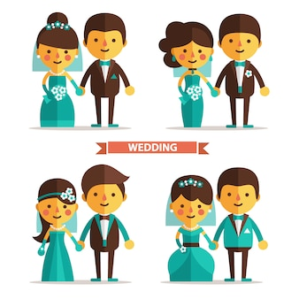 Wedding couple designs