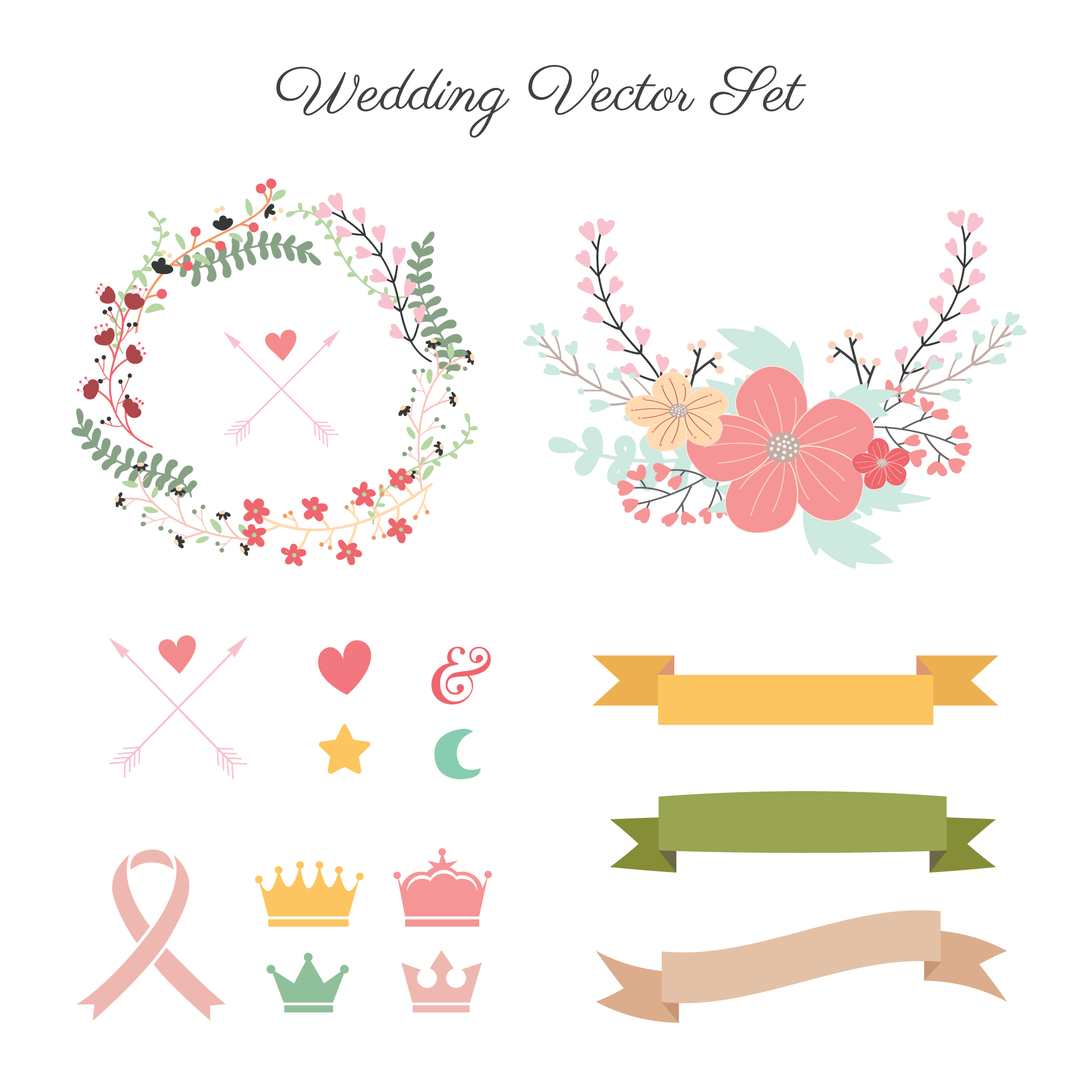 Wedding decoration collection