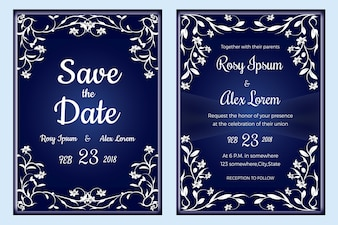 Wedding invitation , Save the date