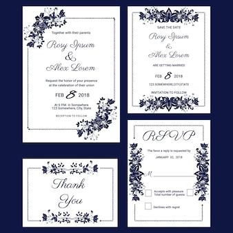 Wedding invitation , Save the date