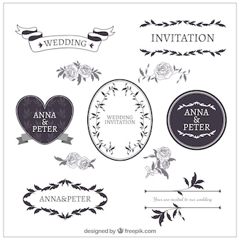 Wedding ornament collection