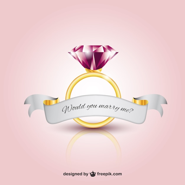 Weding Rings With Pink Diamond 05 - Weding Rings With Pink Diamond