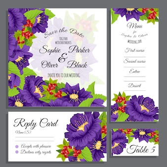 Wedding stationery collectio
