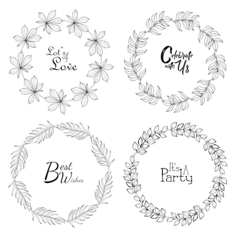 Wedding wreath collection