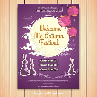 Welcome mid autumn festival