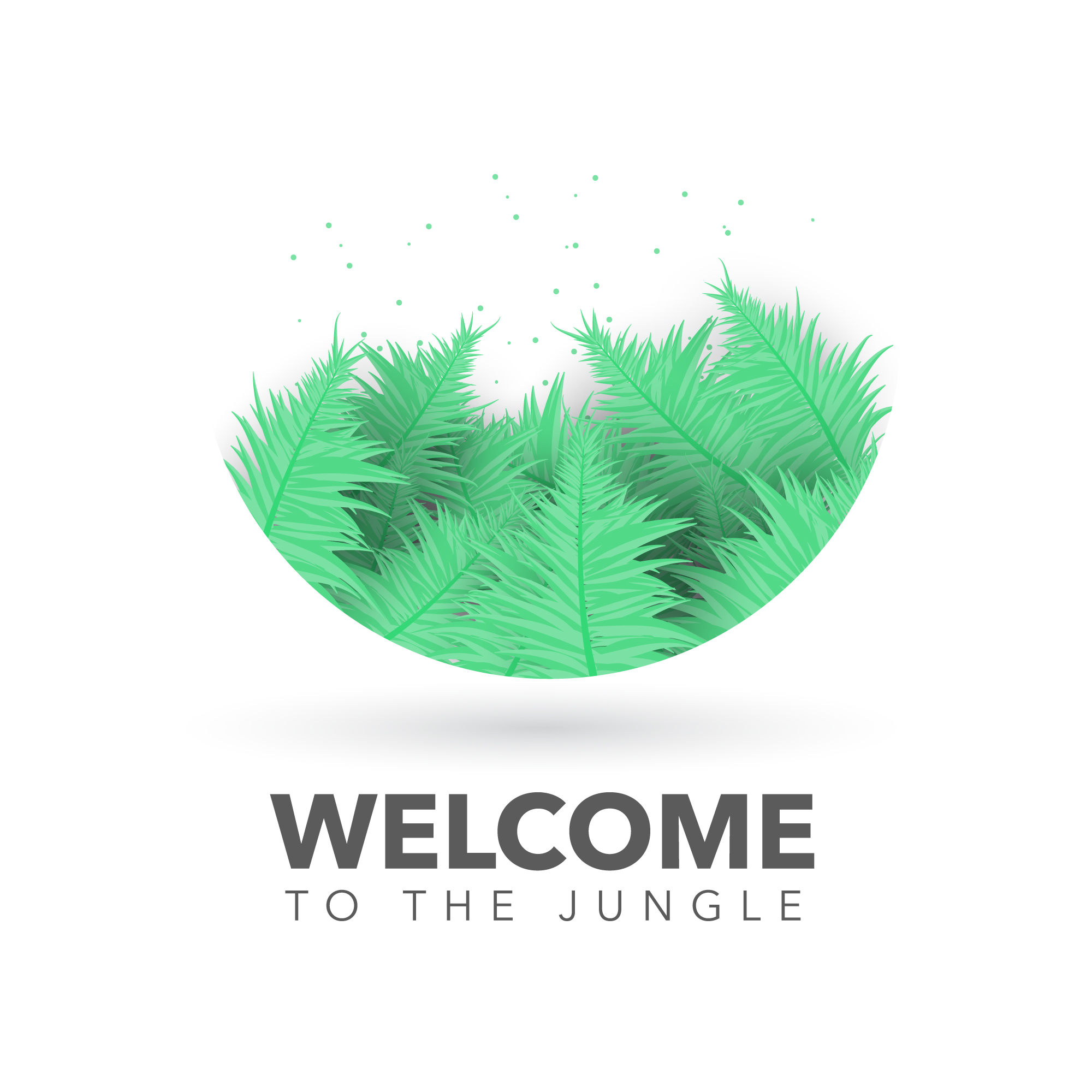 Welcome to the jungle background