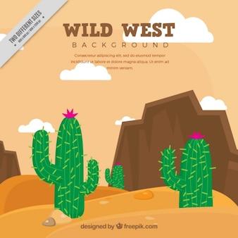 West landscape background