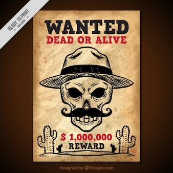 West wanted poster