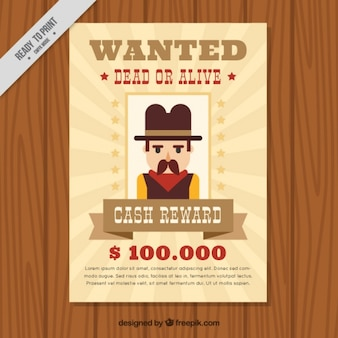 Western poster wanted