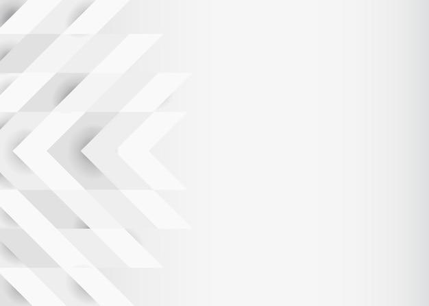 White 3d modern background design