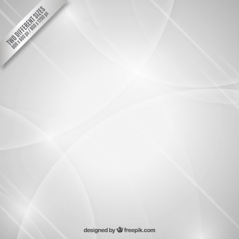 White abstract background with circles