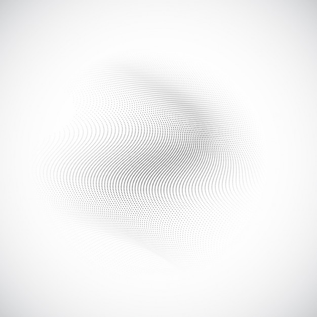 White abstract background with wavy texture