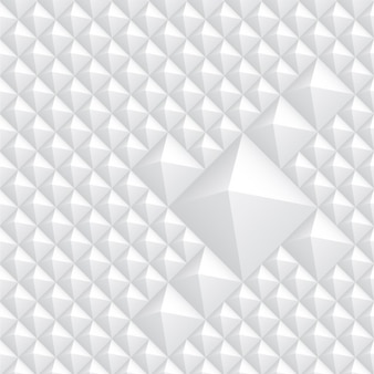 ホワイト抽象的な菱形の背景