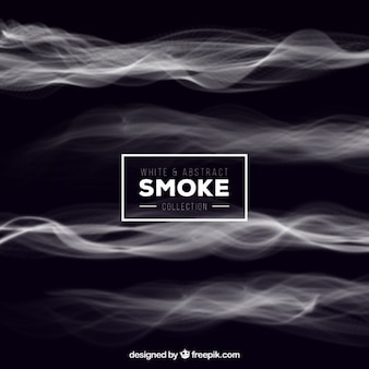 White abstract smoke background