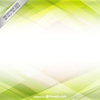 White and green background