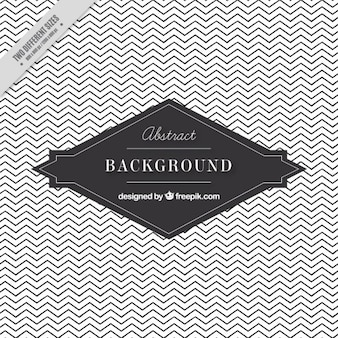 White and grey background with zig-zag lines
