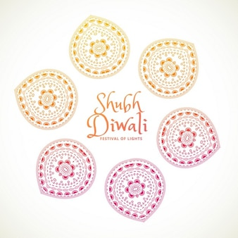 White background for diwali