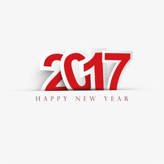 White background with red text for new year
