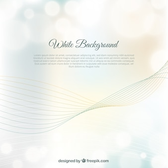 White background with waves