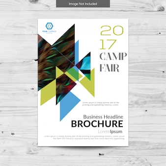 White business brochure design