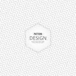 White geometric background with zig zag lines