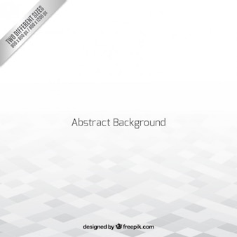 White geometric empty space background