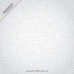 White labyrinth pattern